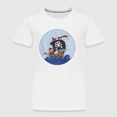 Piratenschiff - Kinder Premium T-Shirt