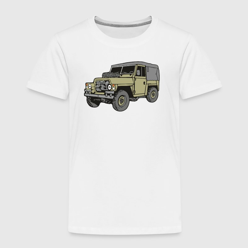 Land Rover Lightweight Light Weight 4x4 Offroad - Kinder Premium T-Shirt