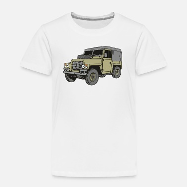 Land Rover Land Rover Lightweight Light Weight 4x4 Offroad - Kinder Premium T-Shirt