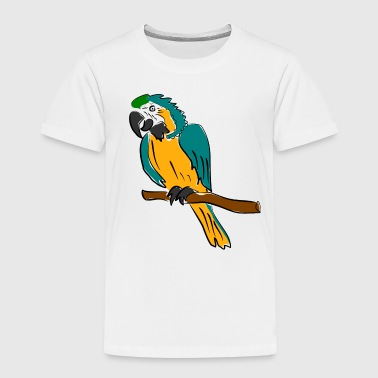 papagei vogel - Kinder Premium T-Shirt