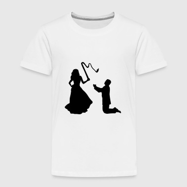 Woman & Whip, Bride & Groom - Camiseta premium niño