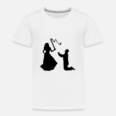 Bride And Groom Woman & Whip, Bride & Groom - Camiseta premium niño