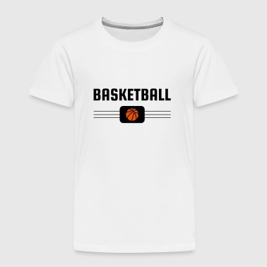 Basketball - Basket ball - Basket-ball - Baskette - Camiseta premium niño