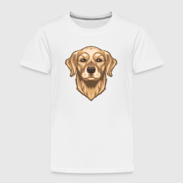 Golden Retriever - Kids' Premium T-Shirt