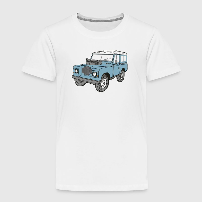 Land Rover Landie 4x4 Off Road Series 3 88 - Kids' Premium T-Shirt