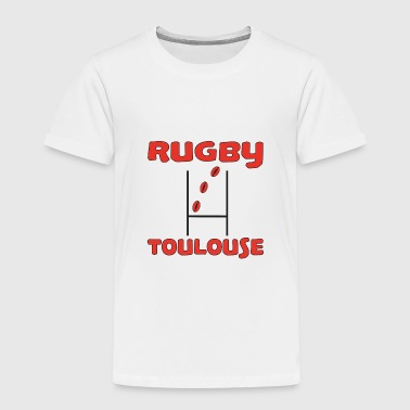 Rugby toulouse - Premium T-skjorte for barn