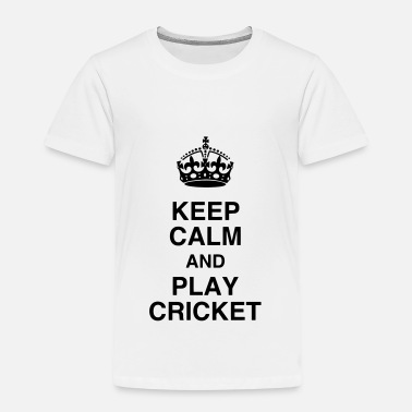 Play Cricket Cricket - Cricketer - Sport - Kricket - Wicket - Kids' Premium T-Shirt