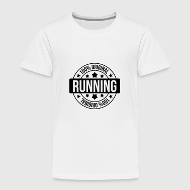 Hinderløp løping / running / jogging / maraton / run - Premium T-skjorte for barn