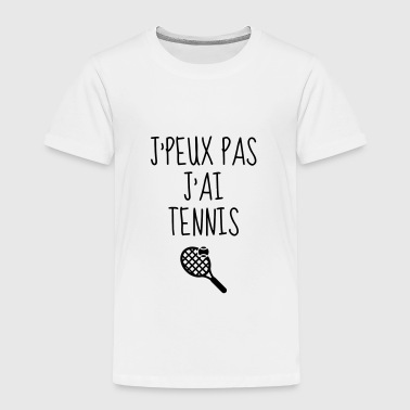 Tennis - Sport - Racket - Tennis Player - Tenis - T-shirt Premium Enfant