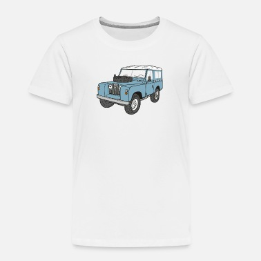 Serie Landy Land Rover Serie2a 4x4 Offroad - Kinder Premium T-Shirt