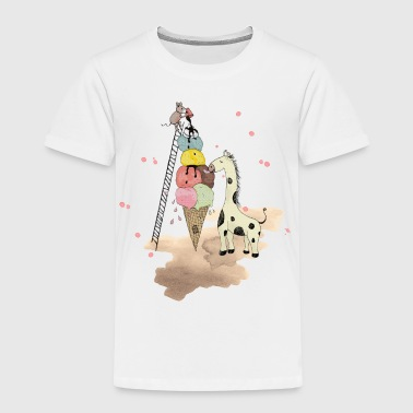 Ostern Wildlife Icecream - Kinder Premium T-Shirt