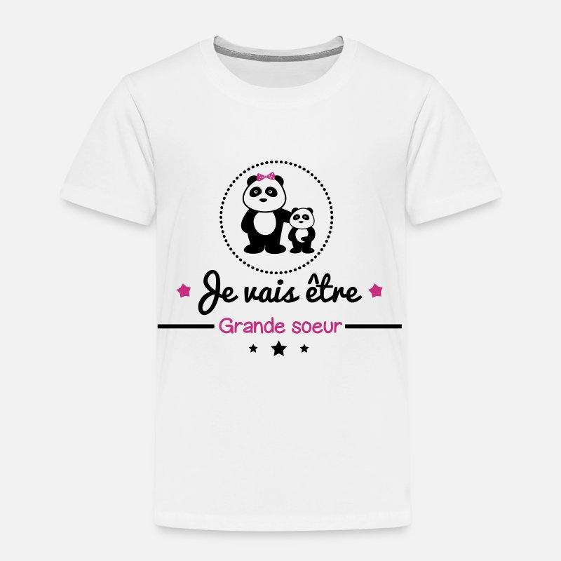 Future Grande Soeur Bientôt Grande Soeur T Shirt Premium Enfant