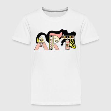 Art typography - Kids' Premium T-Shirt