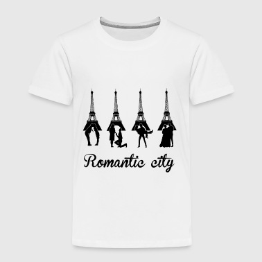 San Valentino Romantic City black - T-shirt Premium Enfant