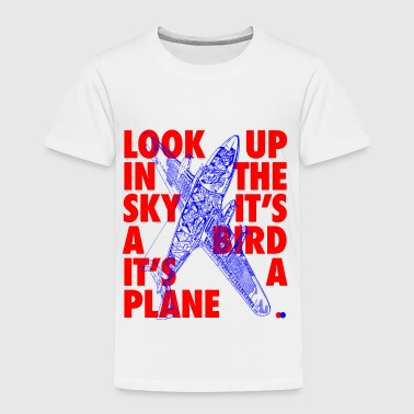 Look up in the sky - Kinder Premium T-Shirt