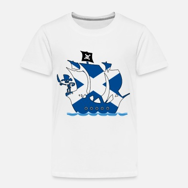 Pirate ship scotland - Kids' Premium T-Shirt
