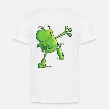 1eb6ab776aa2c Dibujos Para Niños Green Power - Rana - Dibujos - Camiseta premium niño