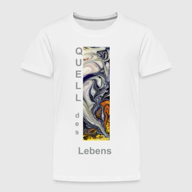 TIAN GREEN Shirts Kids - Quell des Lebens - Kinder Premium T-Shirt