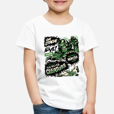Horror The Killer Creature Hollywood Show - Kinder Premium T-Shirt