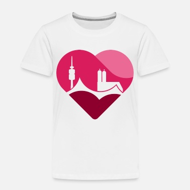 Munich heart - Kids' Premium T-Shirt