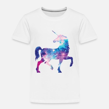 Unicorn with constellation design - Kids' Premium T-Shirt
