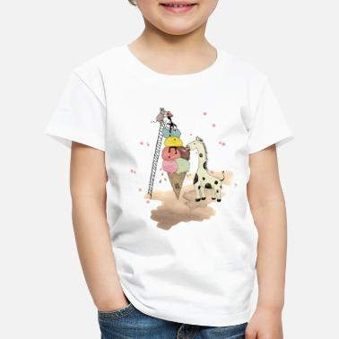 Printemps Wildlife Icecream - T-shirt premium Enfant