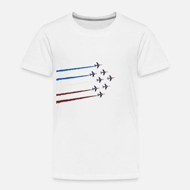 Avion patrouille de france - T-shirt premium Enfant