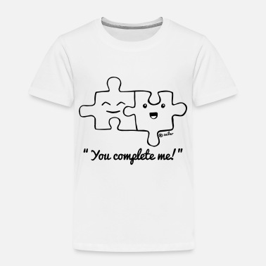 Best Friends You complete me - Kids' Premium T-Shirt