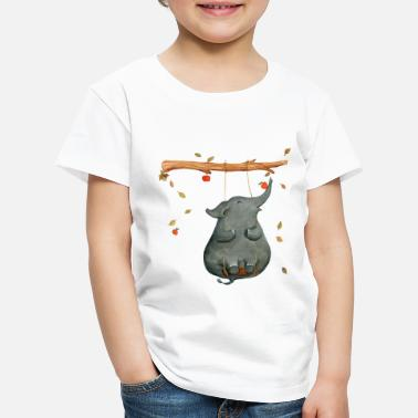 Collection For Kids elephant - Lasten premium t-paita