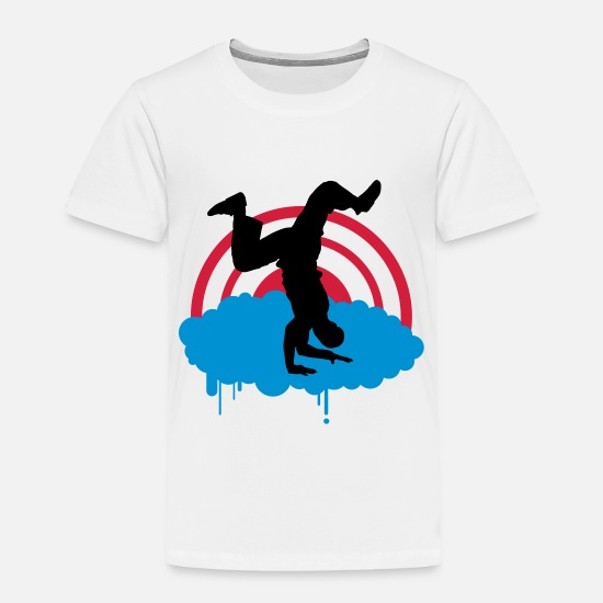 Breakdance T-Shirts - Breakdancer - Kinder Premium T-Shirt Weiß