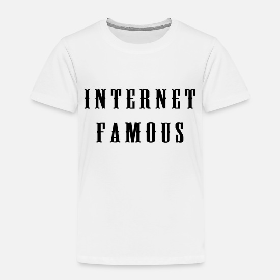 Meme T-Shirts - Internet famous - Kids' Premium T-Shirt white