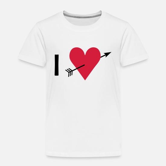 I ♥ I love Premium T shirt barn | Spreadshirt