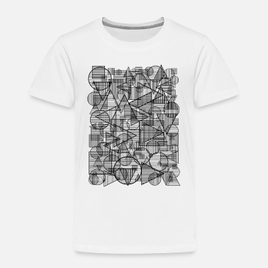 Geometry Pattern (Simple Form) - Kids' Premium T-Shirt