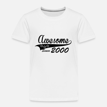Awesome Geburtstag Bday since 2000 - Kinder Premium T-Shirt