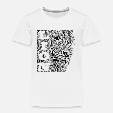 Lion lion head - Kids' Premium T-Shirt