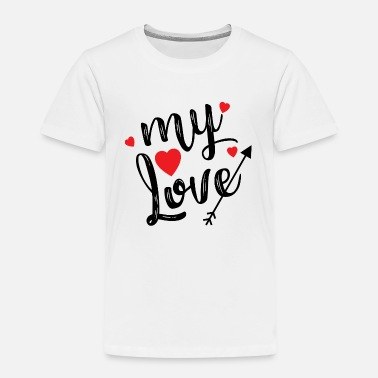 my Love. Valentinstag - Kinder Premium T-Shirt