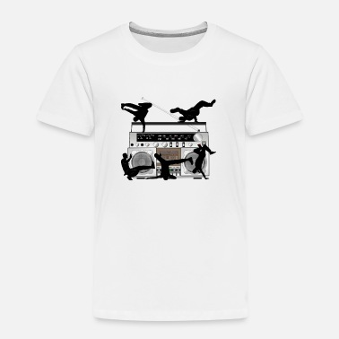 Breakdance & Radio - Kinder Premium T-Shirt