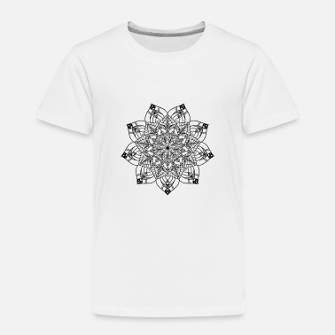 New Age New age Golden mandala - Kids' Premium T-Shirt