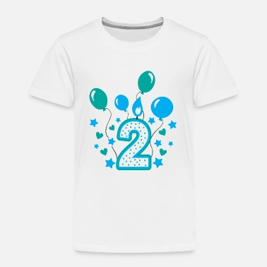 Boy Second birthday boy, 2nd birthday gift - Kids' Premium T-Shirt