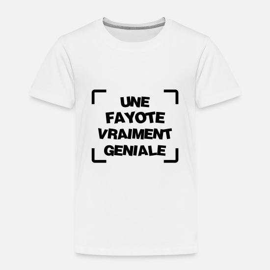 Fayot Fayote Humour Prof Ecole Patron T shirt