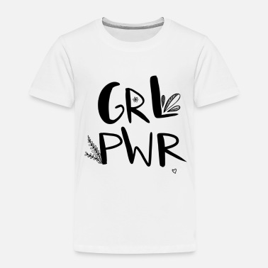 girlpower - Kinder Premium T-Shirt