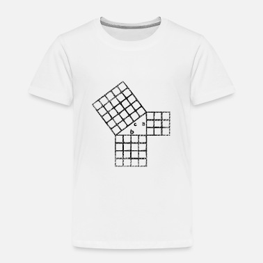 Pythagorean Pythagorean theorem - Kids' Premium T-Shirt