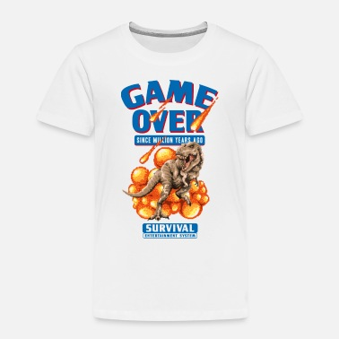 Game Over Game over - Kinderen premium T-shirt