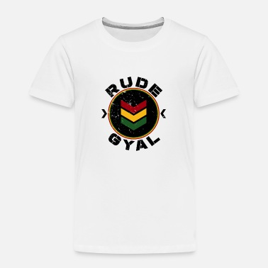 Bashment Rude Gyal - Kids' Premium T-Shirt