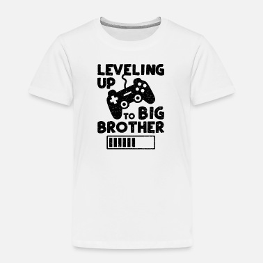 Up Levelling Up to Big Brother - Brother - Kinderen premium T-shirt