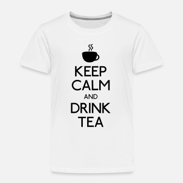 0a2c8d44e4289 Keep Calm keep calm drink tea - T-shirt premium Enfant