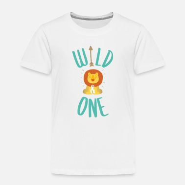 Wild Wild and one - Kinder Premium T-Shirt