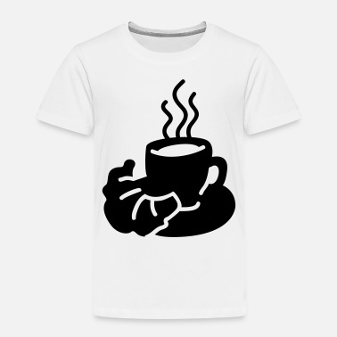 Tea Coffee Cup - Kids' Premium T-Shirt