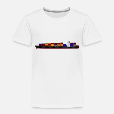 Container Container Ship - Kids' Premium T-Shirt