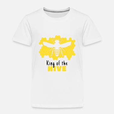 Hive King of the hive - Bee T-Shirt - Kinder Premium T-Shirt